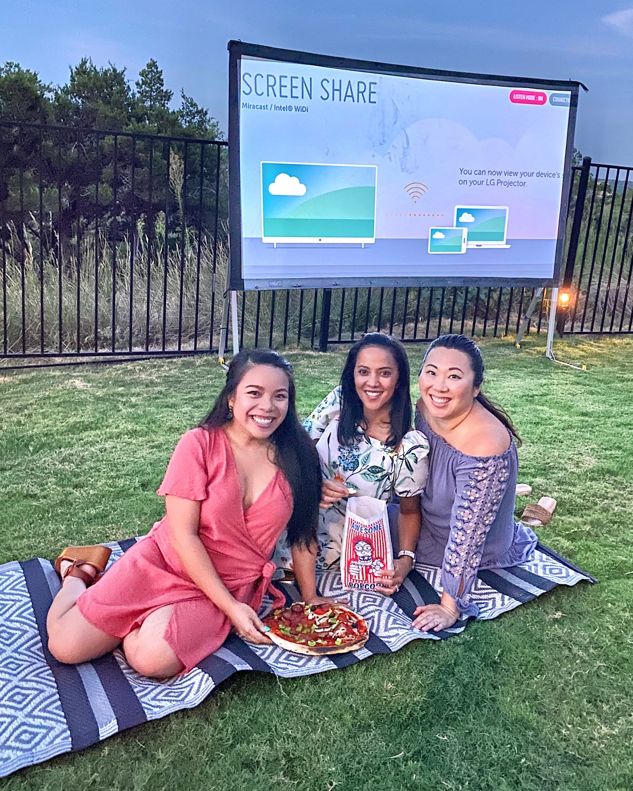 girls movie night