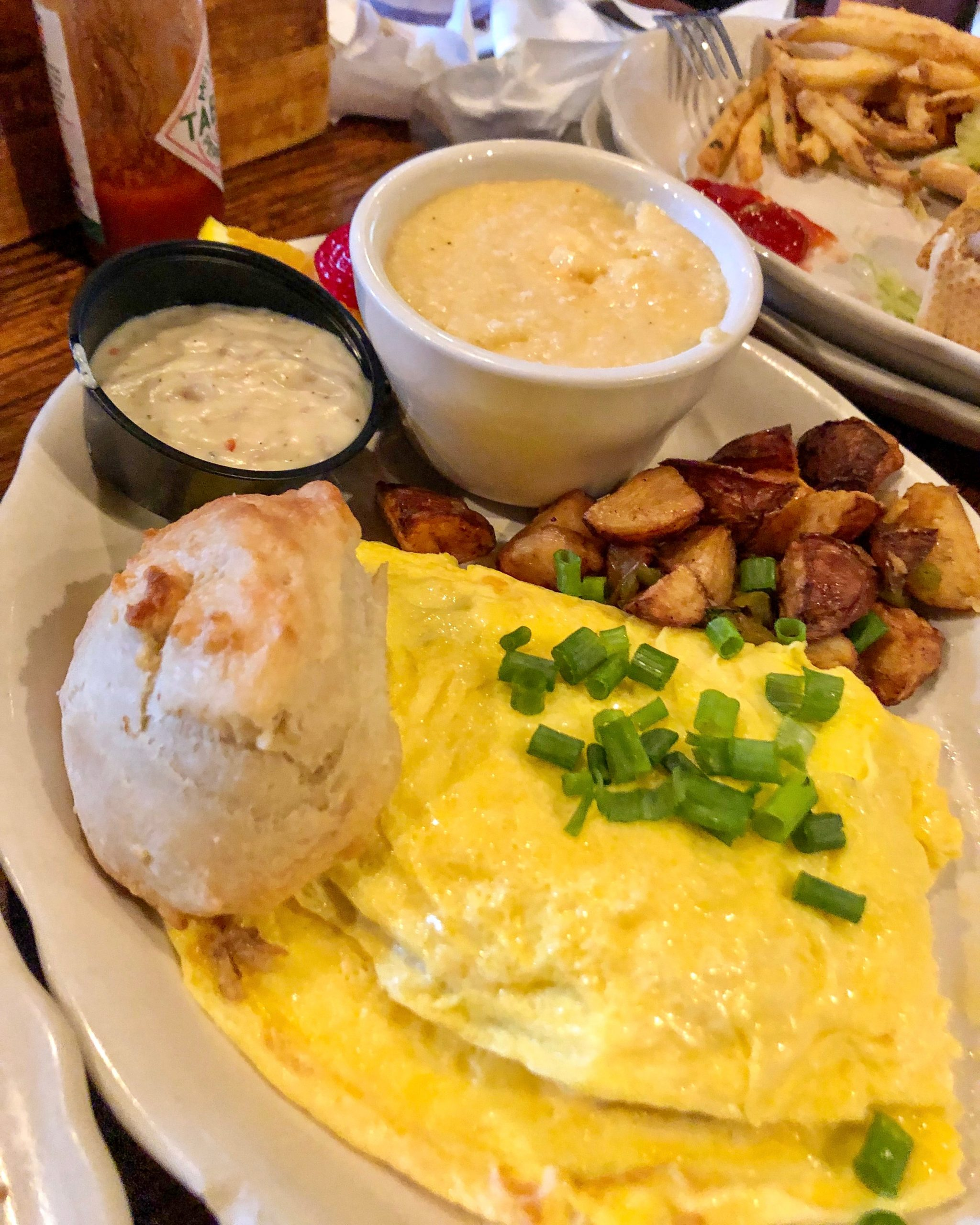 The Chimes Boudin Omelet