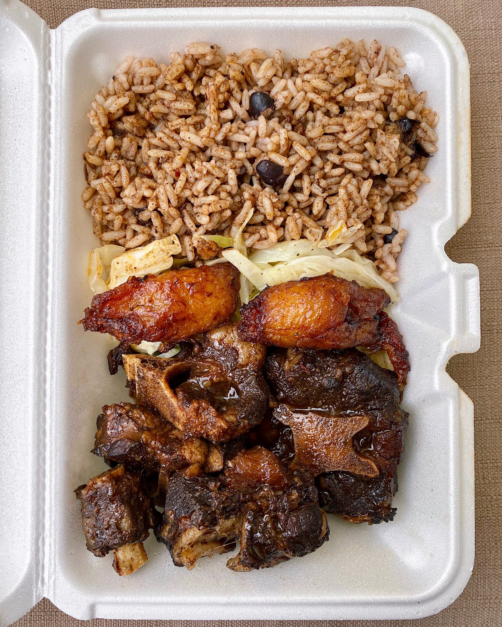 Jamaican Oxtail from Tony's Jamaican Food in Austin, TX