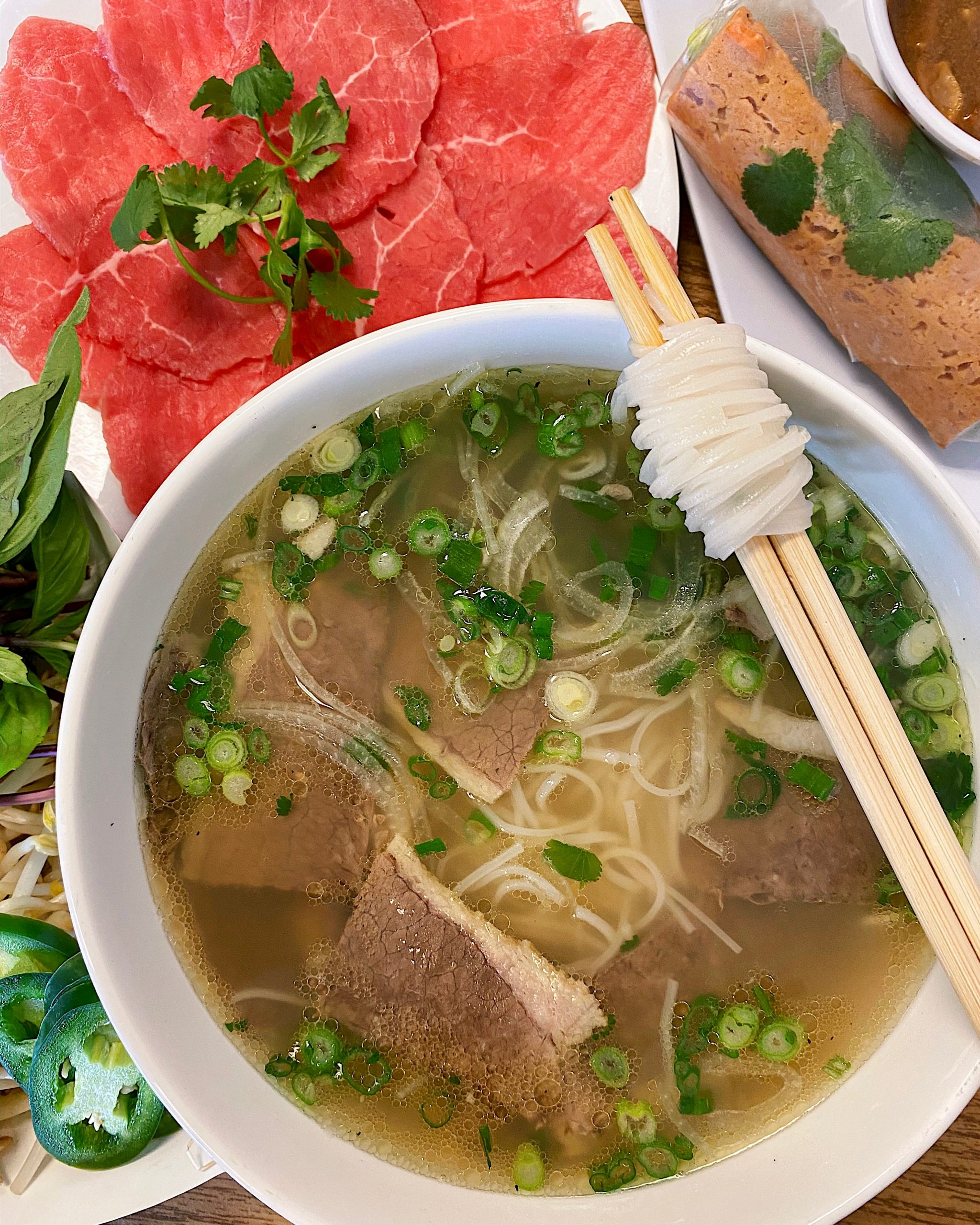 Rare Steak Pho Tai from Pho Phong Luu in Austin, TX
