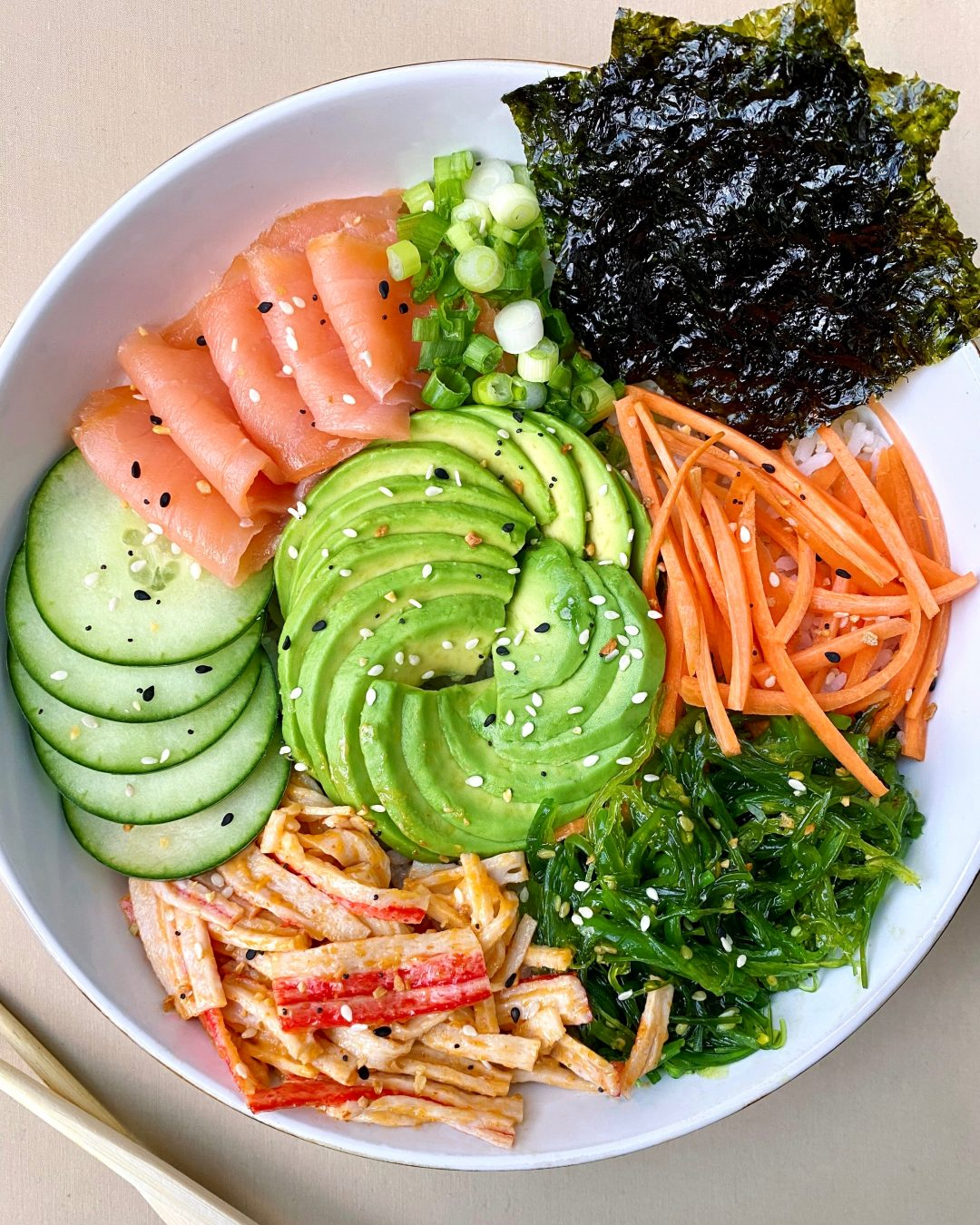 Sushi Bowl: Easy, Colorful, and Requires No Stove
