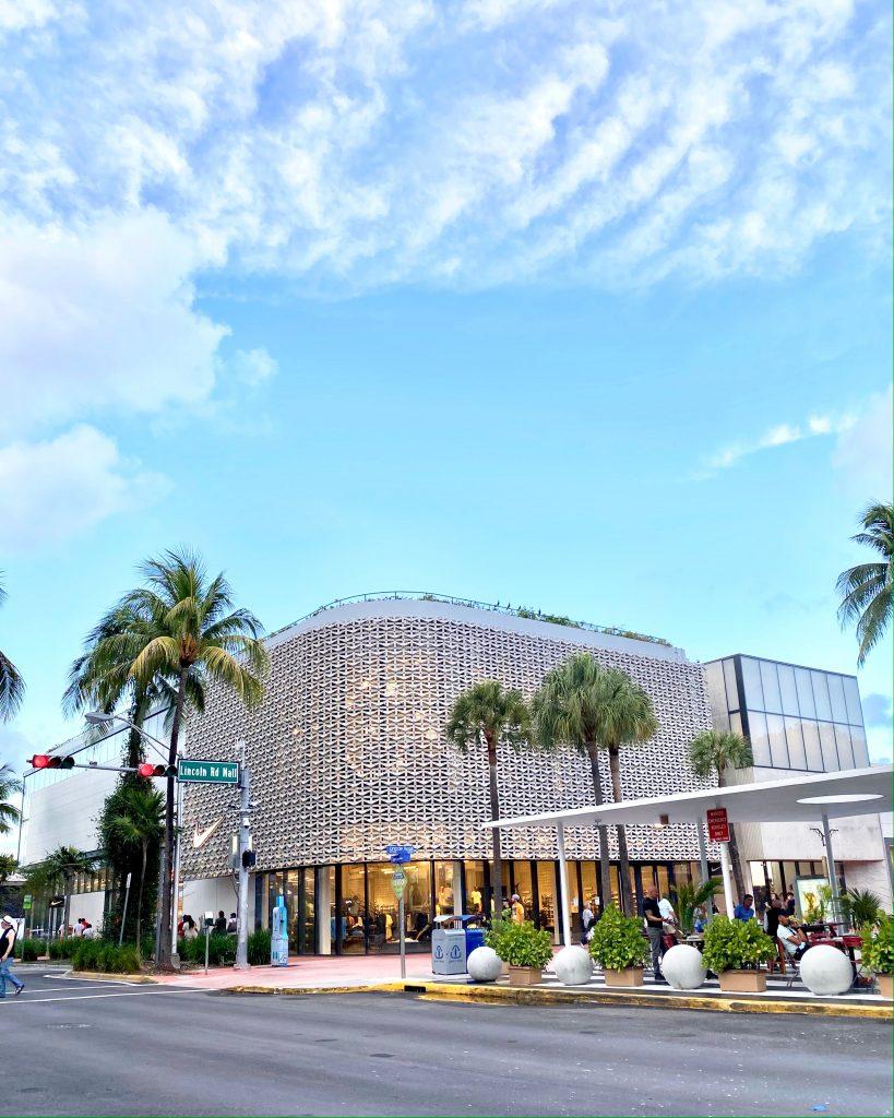 Lincoln Road Nike Store Miami Beach