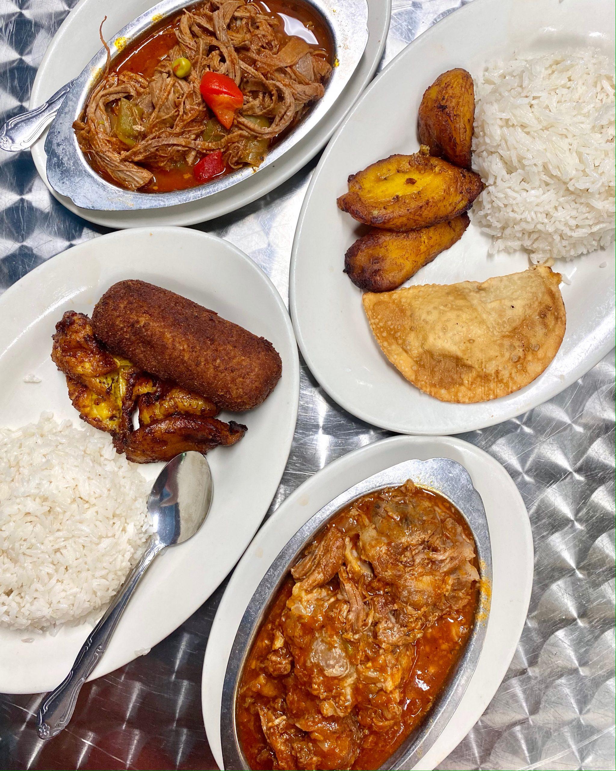 Cuban food at Puerto Sagua in Miami Beach