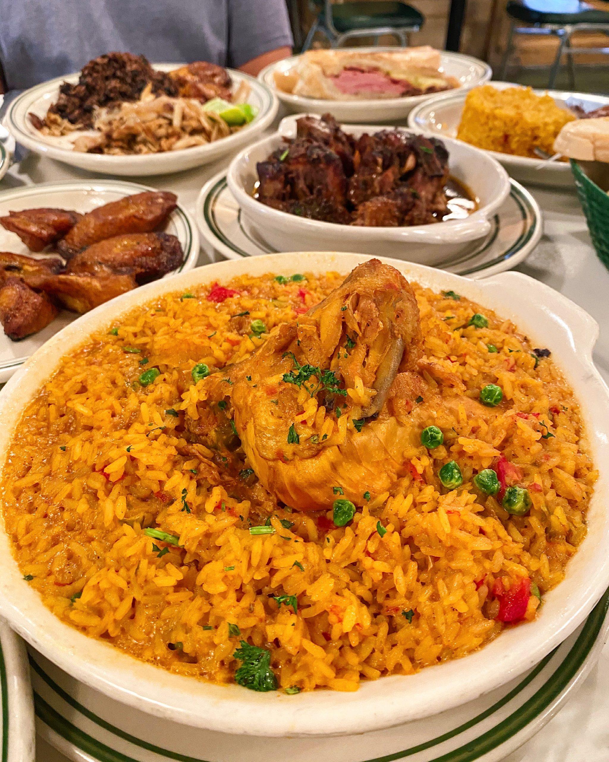 Arroz con Pollo Cuban Food at Versailles