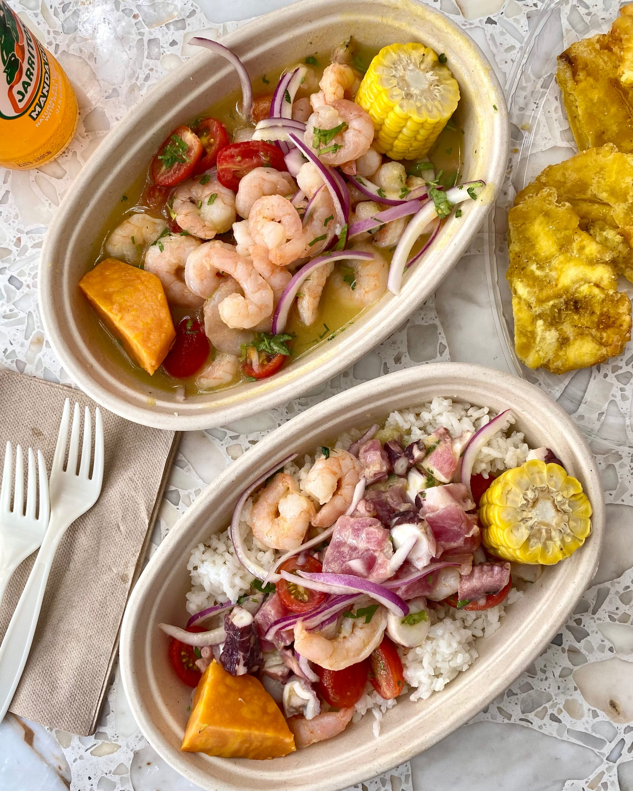 build your own ceviche at My Ceviche